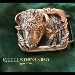 barry kieselstein cord small buffalo buckle